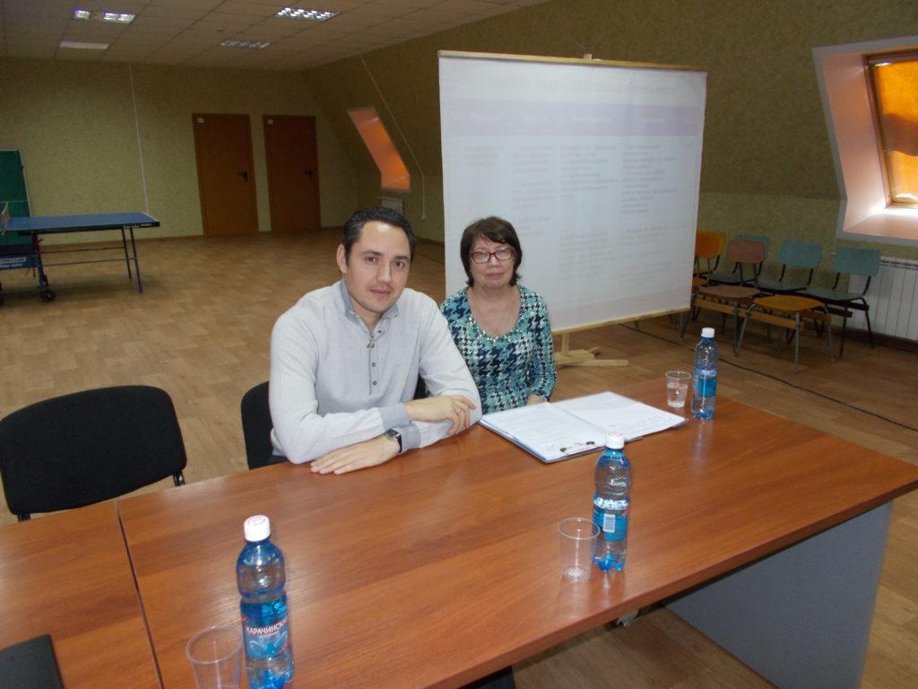 Александр Вагенлейтер и Татьяна Бобровская, 2017