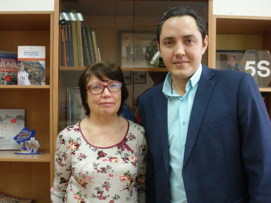 Татьяна Бобровская и Александр Вагенлейтер