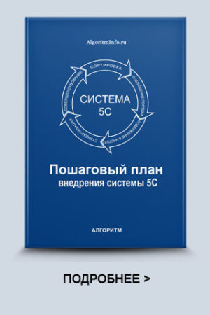 Пошаговый план внедрения системы 5S